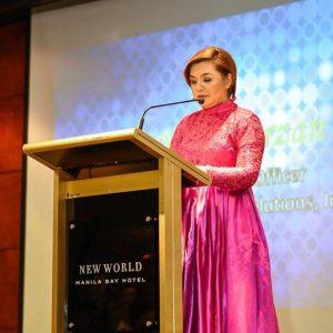 Mary Grace Bersola Marzan of i-Learn International Learning Institute