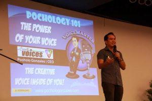 Pocholo Gonzales is a leadership speaker.