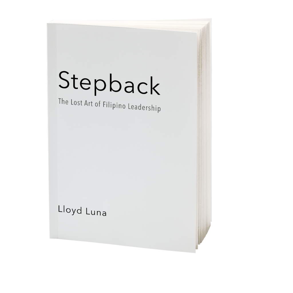 Stepback Leadership Book by Lloyd Luna