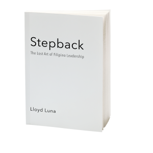 Stepback Leadership Book by a Filipino Leadership Speaker Lloyd Luna